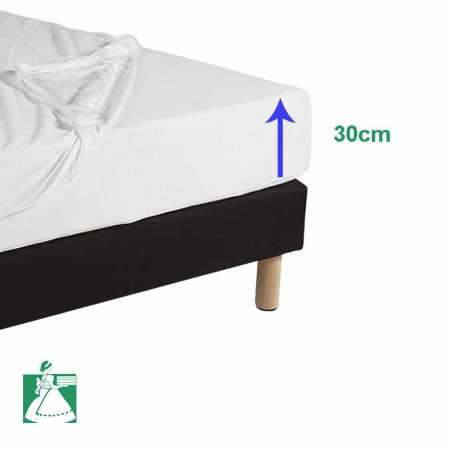 prot ge matelas la compagnie du blanc. Black Bedroom Furniture Sets. Home Design Ideas