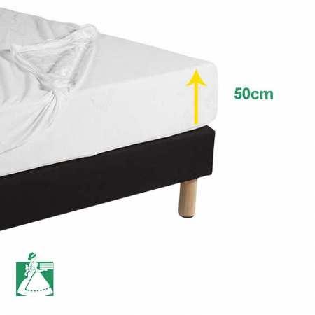 Protège Matelas Molleton 230g/m² BONNET 50 CM