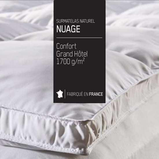 Surmatelas Grand Hotel Nuage