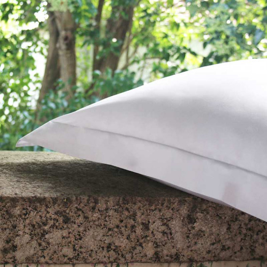 Taie d'oreiller Percale 100% Coton Egyptien 80 fils/cm2