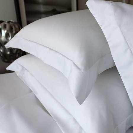 Taie d'oreiller Satin 100% Coton Egyptien 120 fils/cm2