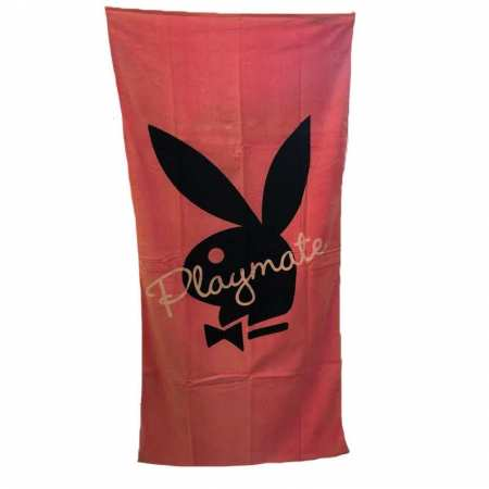 Drap de Plage 75x150 Playmate Rose - Playboy