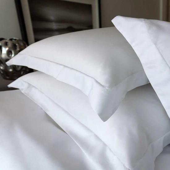 Taie d'oreiller Satin de Coton Égyptien Prestige 240 fils/cm²