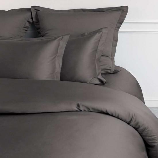Drap Housse Satin de Coton Égyptien Prestige 240 Fils/cm² Bonnet 30 cm