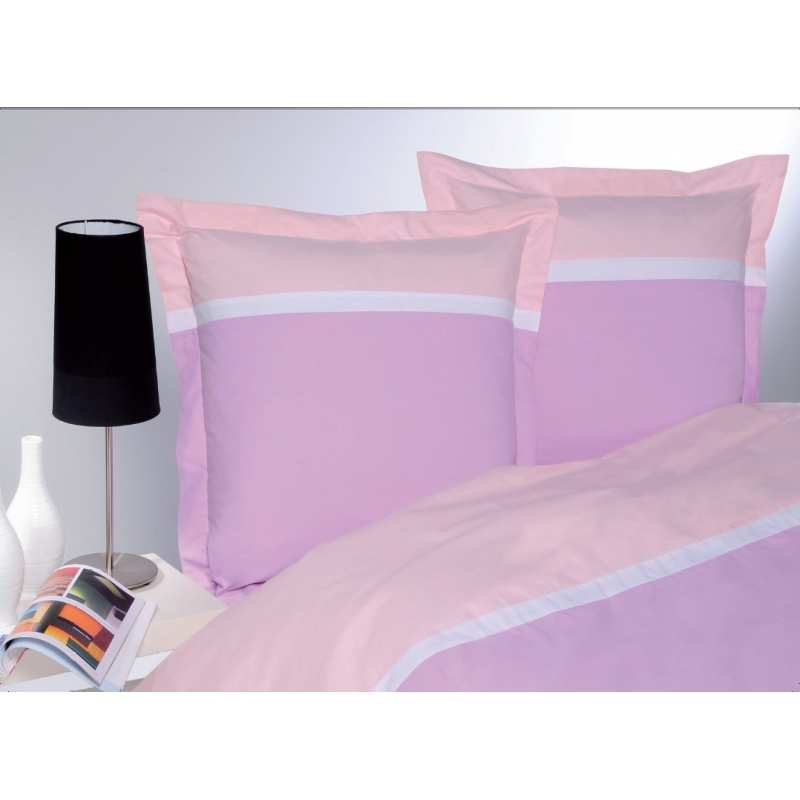 housse de couette percale tricolore. Black Bedroom Furniture Sets. Home Design Ideas