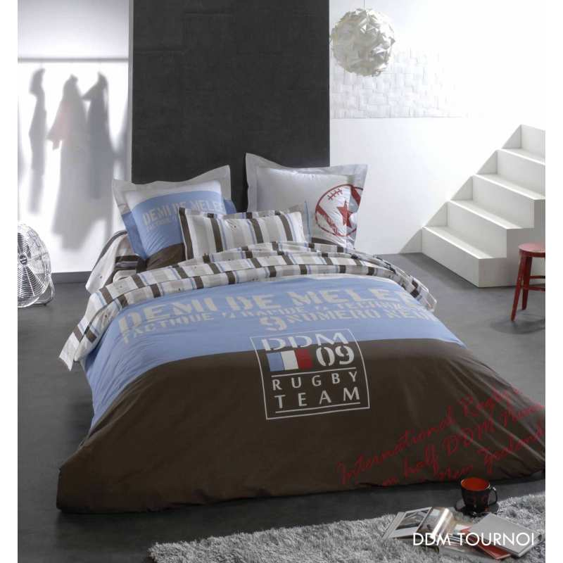 housse de couette tournoi 200x200 tradi. Black Bedroom Furniture Sets. Home Design Ideas