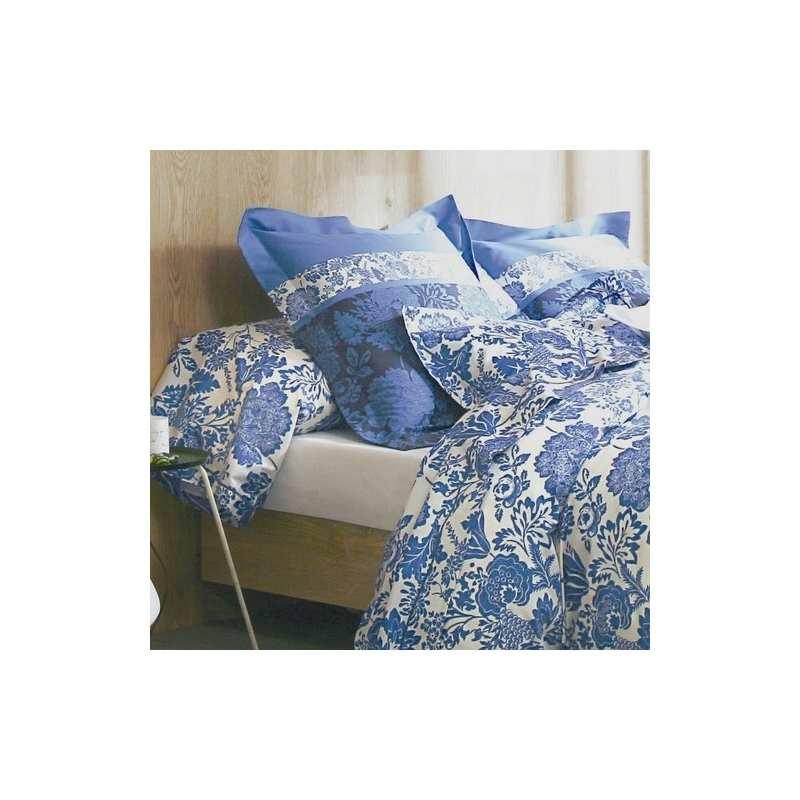 parure de draps 4 pieces dolce vita bleu klein dh140. Black Bedroom Furniture Sets. Home Design Ideas