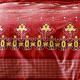 Parure de Draps 4 Pieces India Rouge (DH140_DP240_2TO)