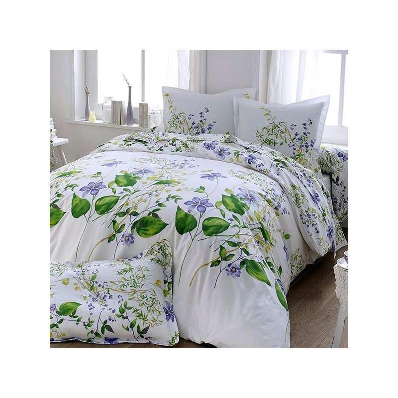 parure de draps tradilinge modele grace percale. Black Bedroom Furniture Sets. Home Design Ideas