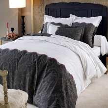 housse de couette 240x280 240 280 la compagnie du blanc. Black Bedroom Furniture Sets. Home Design Ideas