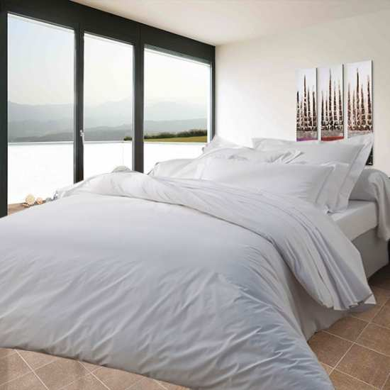 housse de couette 240x260 linge de lit 240x260 gamme hotellerie gamme polycoton. Black Bedroom Furniture Sets. Home Design Ideas