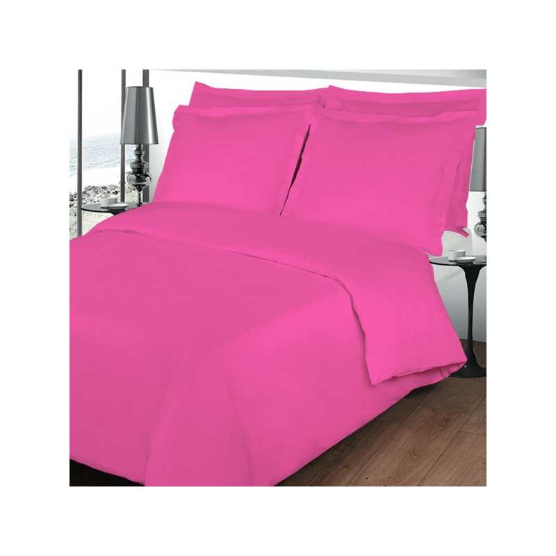 housse de couette 200x200 linge de lit 200x200 fushia. Black Bedroom Furniture Sets. Home Design Ideas
