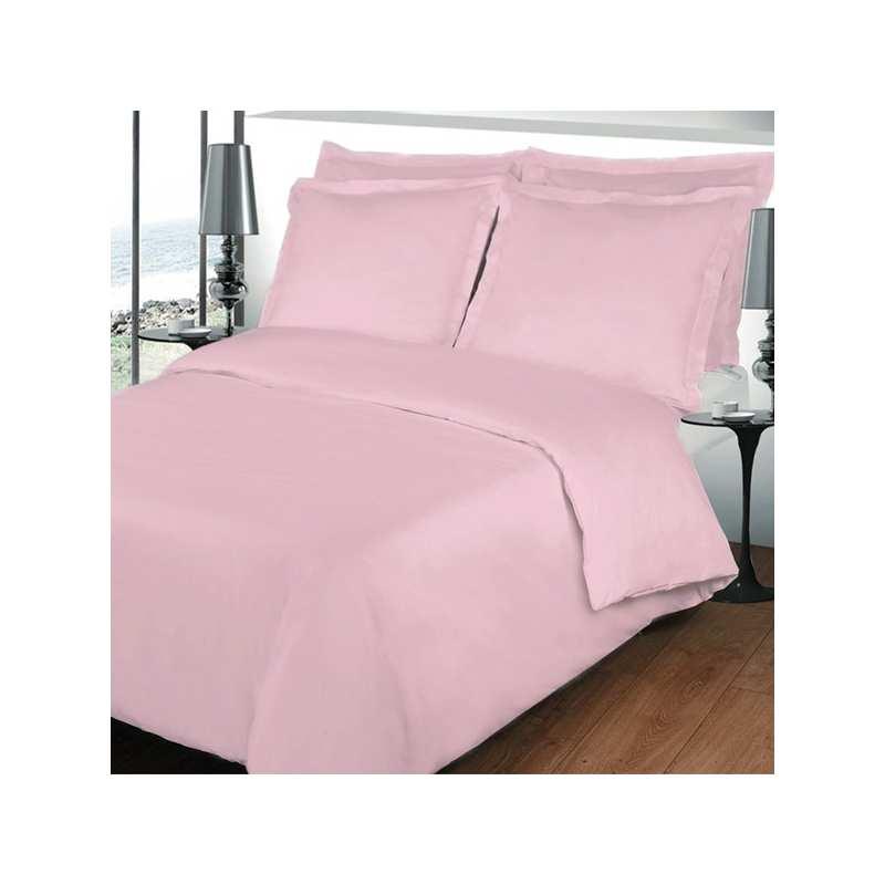 housse de couette 200x200 linge de lit 200x200 rose. Black Bedroom Furniture Sets. Home Design Ideas