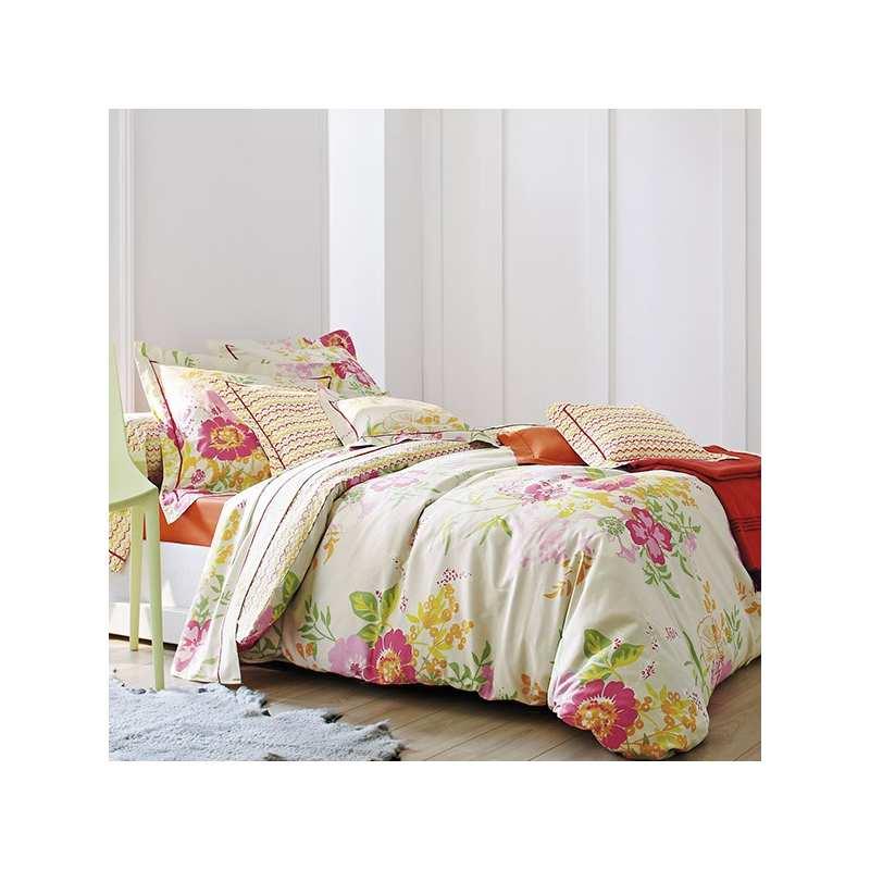 housse de couette blanc des vosges mod le opio sanguine. Black Bedroom Furniture Sets. Home Design Ideas