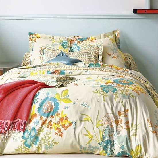 housse de couette blanc des vosges mod le opio celadon. Black Bedroom Furniture Sets. Home Design Ideas