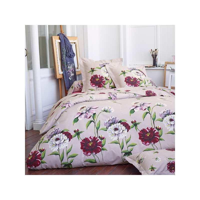 parure de draps tradilinge mod le percale anita. Black Bedroom Furniture Sets. Home Design Ideas