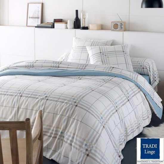 housse de couette flanelle tradilinge. Black Bedroom Furniture Sets. Home Design Ideas