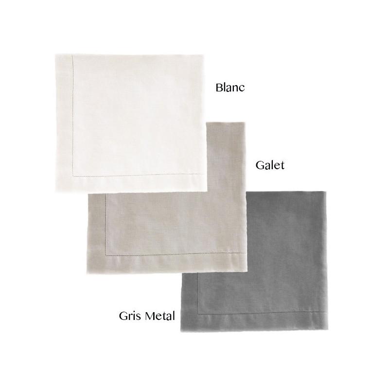 nappe 170x300 luxe 100 lin lav la compagnie du blanc. Black Bedroom Furniture Sets. Home Design Ideas