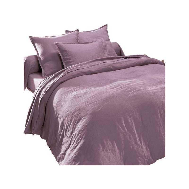 draps en lin lav mure. Black Bedroom Furniture Sets. Home Design Ideas