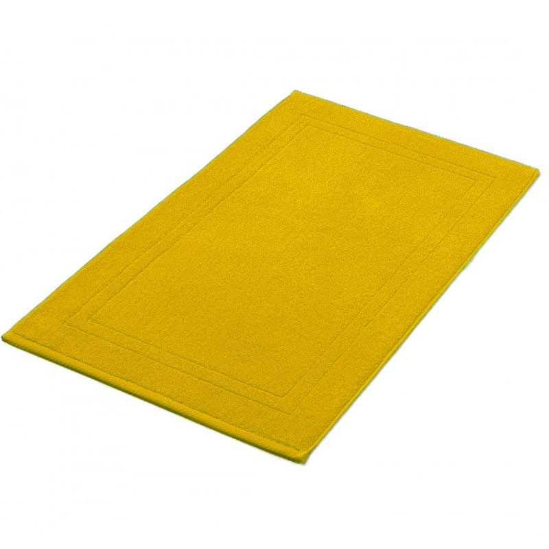 tapis de bain safran 50x80 cm 900gr m2 la compagnie du blanc