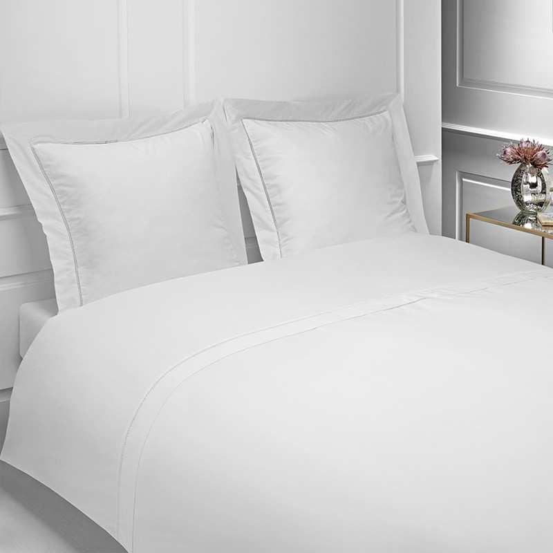 drap housse 160 fils vendome 160x200. Black Bedroom Furniture Sets. Home Design Ideas