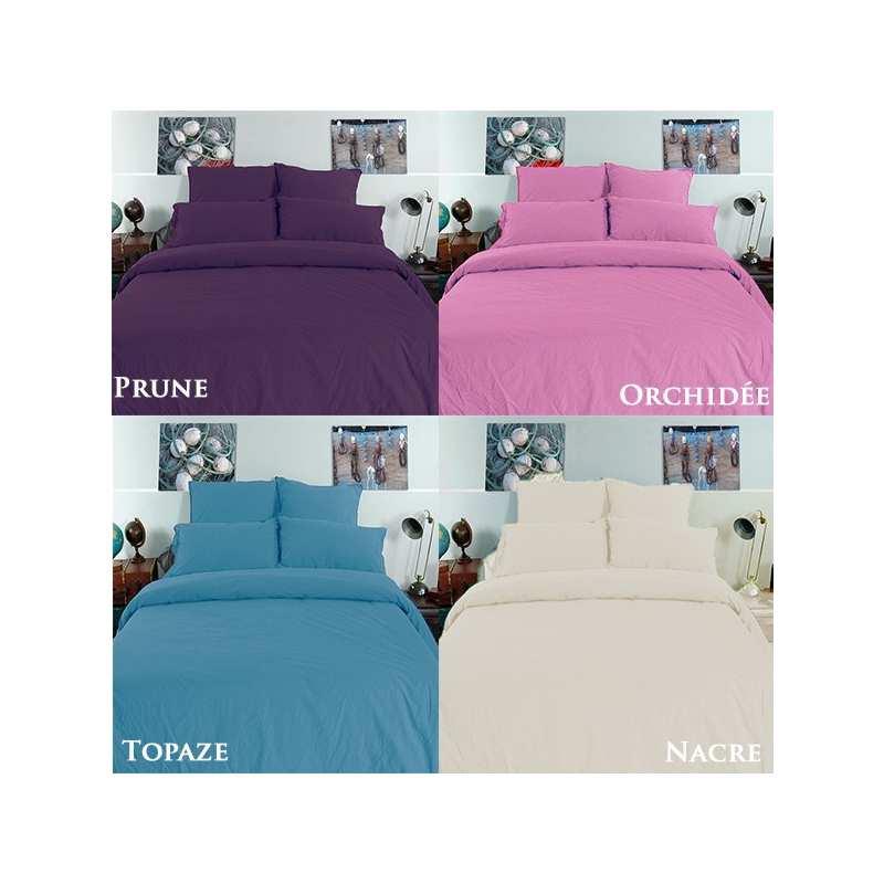linge de lit palace coton lav la compagnie du blanc. Black Bedroom Furniture Sets. Home Design Ideas