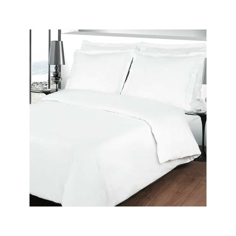 percale coton linge de lit percale la compagnie du blanc. Black Bedroom Furniture Sets. Home Design Ideas