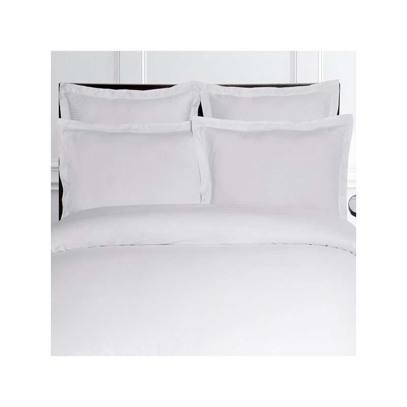 linge de lit satin de coton 120 fils cm2 la compagnie du blanc. Black Bedroom Furniture Sets. Home Design Ideas