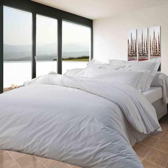 percale 50 coton 50 polyester la compagnie du blanc. Black Bedroom Furniture Sets. Home Design Ideas