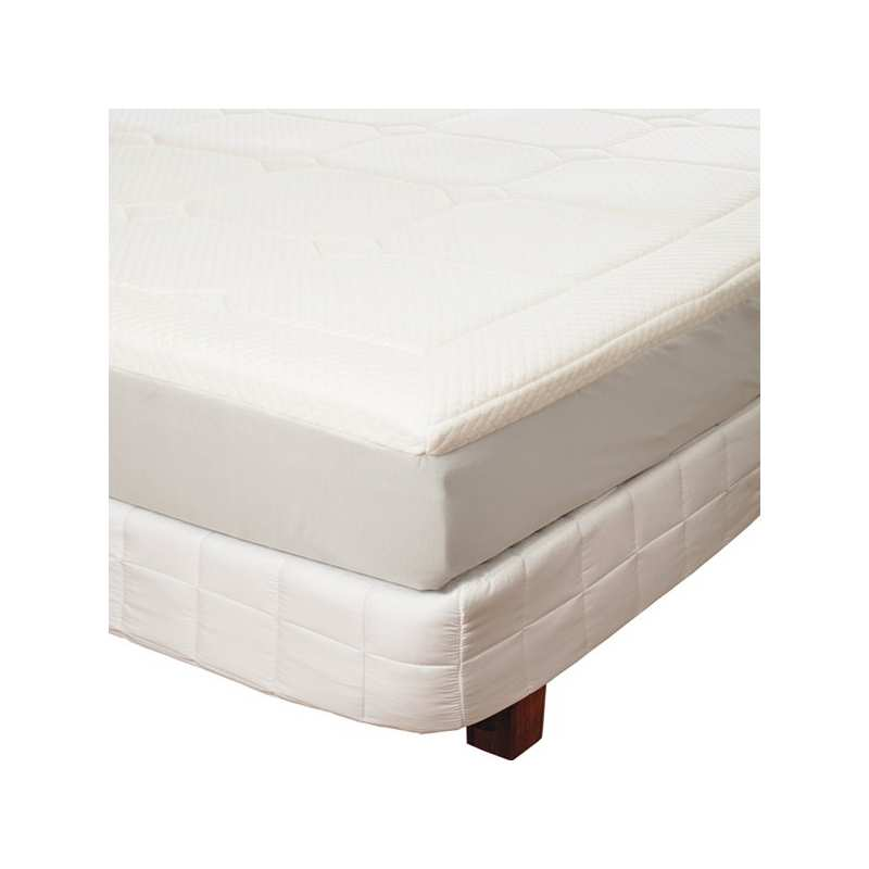 surmatelas m moire de forme la compagnie du blanc. Black Bedroom Furniture Sets. Home Design Ideas
