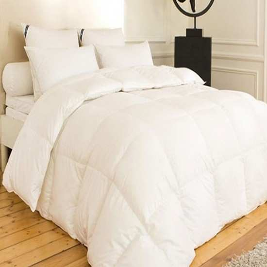 Couette Naturelle Luxe Yeti 90% Duvet Oie Extra Blanc HIVER