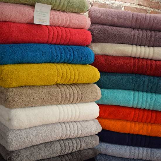 Nouvelle Collection Linge de Bain Eponge 100% Coton 700g/m2