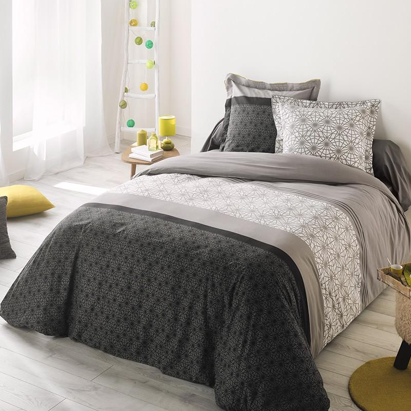housse de couette la compagnie du blanc. Black Bedroom Furniture Sets. Home Design Ideas