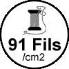 91 fils