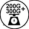 200 + 300 g