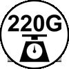 220 grammes