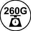 260 grammes