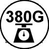 380 grammes