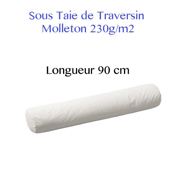 sous taies de traversin 90
